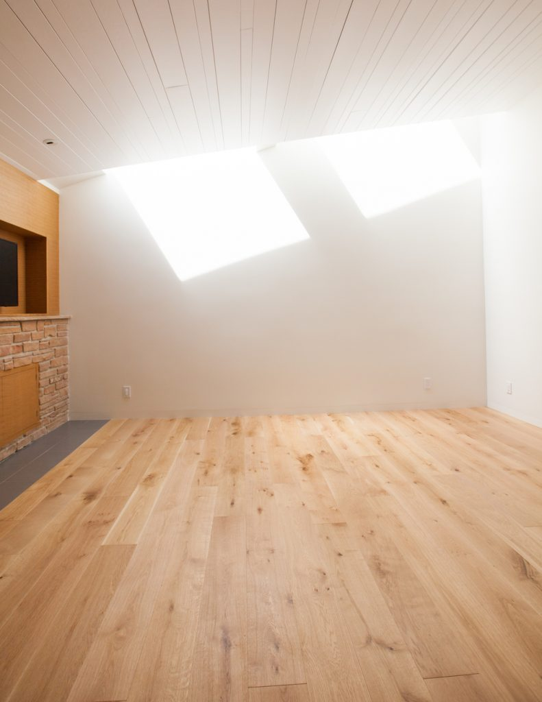 light filled room with wooden floor // Prospect House by Sky Lanigan for Medium Plenty