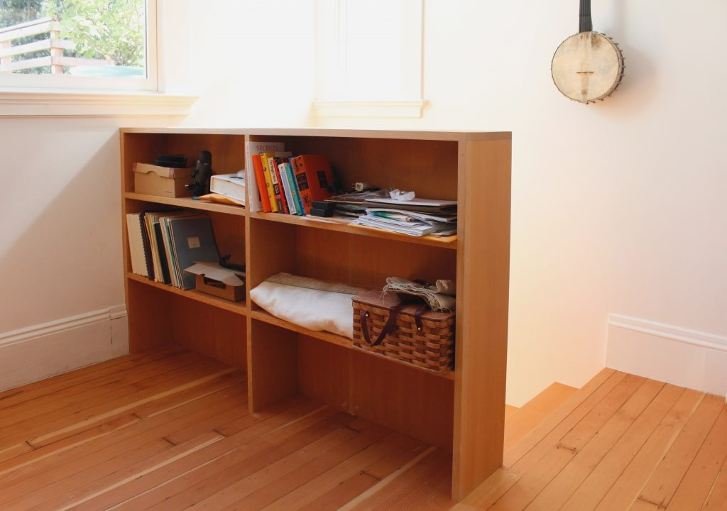 music room floor and cabinet // Carriage House by Sky Lanigan for Medium Plenty