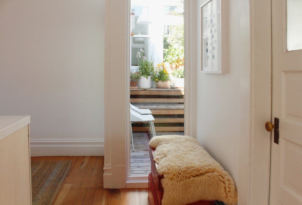 exit to deck // Carriage House by Sky Lanigan for Medium Plenty