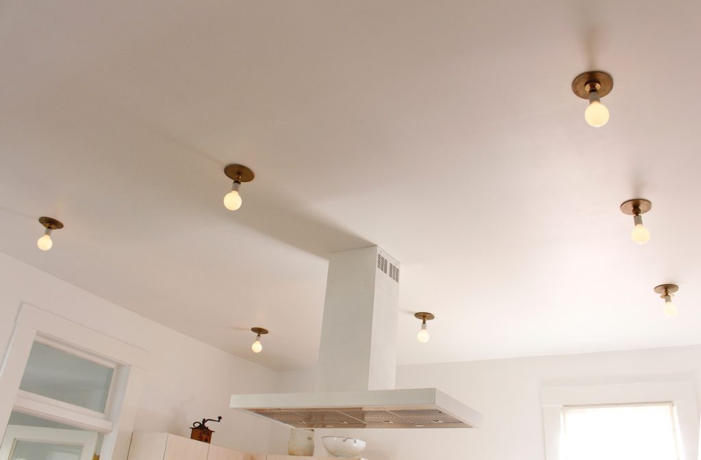 kitchen lighting fixtures // Carriage House by Sky Lanigan for Medium Plenty